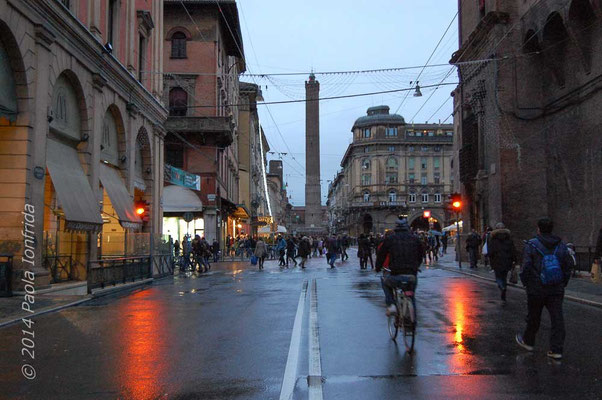 Bologna in the rain