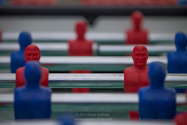 Calciobalilla rossoblù
