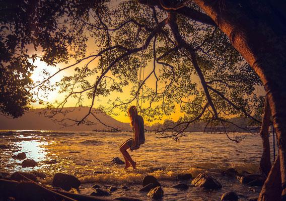 Einfach mal die Seele baumeln lassen im Paradies von Koh Rong Samloem.
