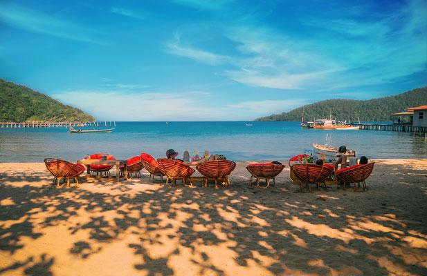 Relaxen am Koh Rong Samloem Beach.