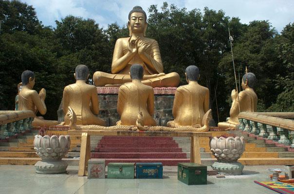 Wat Phnom Pros in Kampong Cham