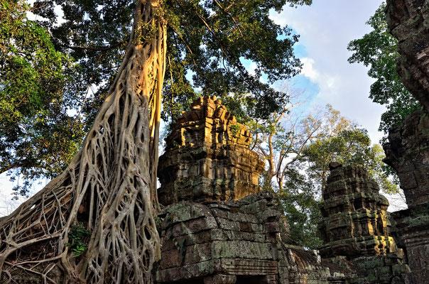 Erster Stopp: Angkor Thom.