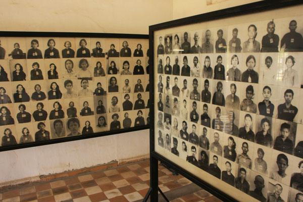 Das Tuol Sleng Museum.