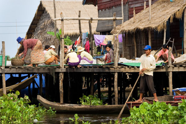 Tonle Sap Dorfleben