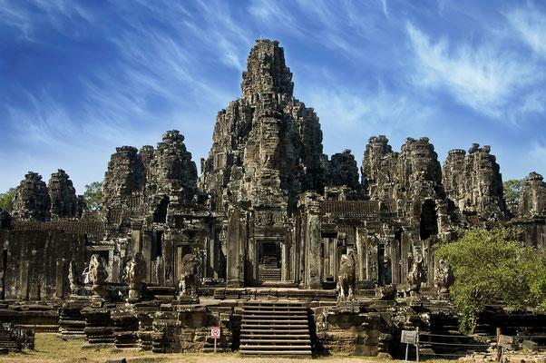Die Ruinen von Angkor Wat.