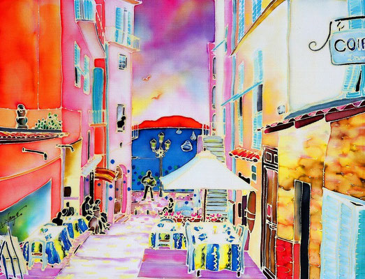 Villefranche:原画サイズ38x29cm SOLD