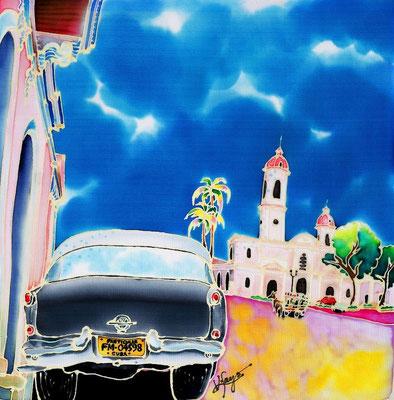 Cienfuegos:原画サイズ30x30cm