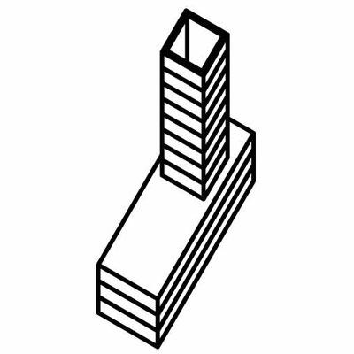 """L-форма - универсальный малый объект для города, фестиваль """"Свое место"""", Челябинск, 2010 год"""