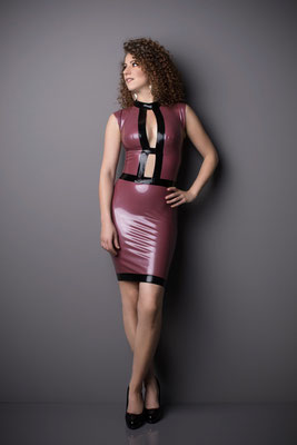 Latex dress gloria vintage