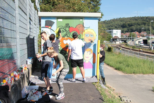Graffiti Workshop Waldshut