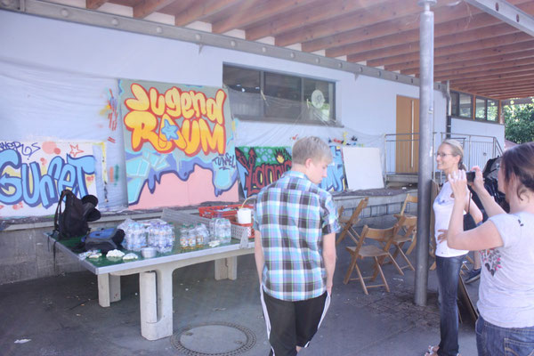 Graffitiworkshop Tunsel