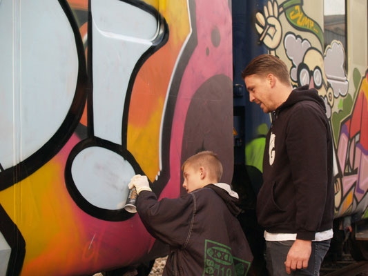 Graffiti Workshop Basel