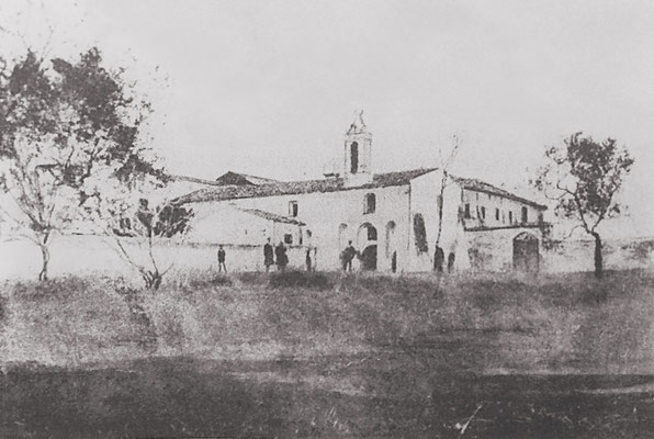 Il convento di Serracapriola nel 1880