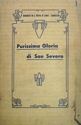 """Dello stesso autore l'opera biografica """"Purissima gloria di San Severo. Breve vita del Padre Giovanni da San Severo"""", edita a San Severo nel 1936"""