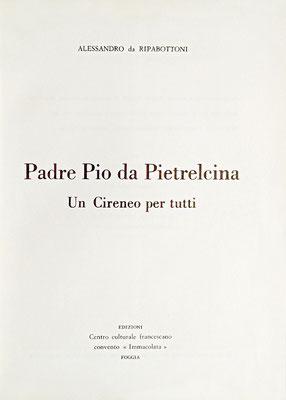 Il frontespizio dell'opera biografica, di 890 pagine