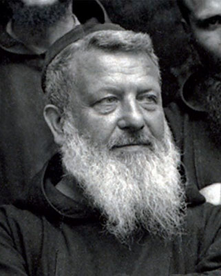 Padre Benedetto da San Marco in Lamis, al secolo Gerardo Nardella (1872-1942), in una fotografia del 1928. Fu Padre spirituale di Padre Pio dal 1905 al 1922, quando il Sant'Uffizio dispose la fine della sua direzione