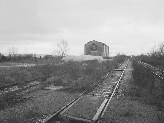 Una costruzione oramai abbandonata