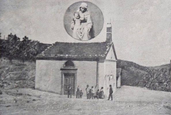 La Cappella di Nostra Signora della Difesa nel 1901