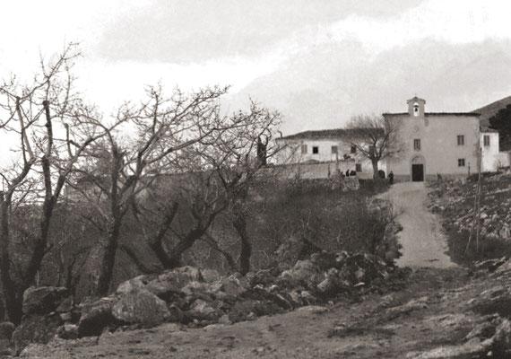 Il Convento di San Giovanni Rotondo, come si presentava dopo la sua riapertura nel 1909
