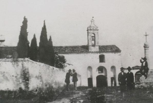 La facciata principale nel 1880