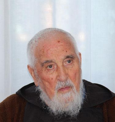 Padre Paolo Covino ritratto in età avanzata