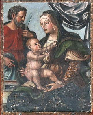 """La """"Madonna delle Grazie"""" di Francesco da Tolentino (1534), alla quale rivolgere le proprie """"Ave Maria"""""""