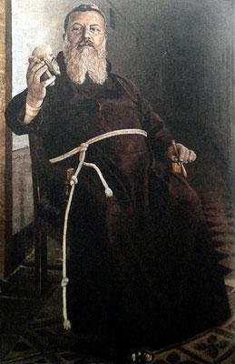 PASQUALE MOSSUTO, Ritratto di padre Benedetto Nardella da San Marco in Lamis. Padre Benedetto fu Vicario e Ministro provinciale ininterrottamente dal 1908 al 1919