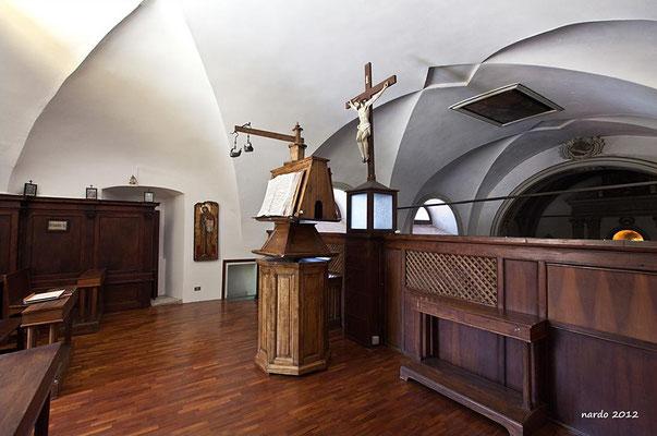 Il coro, in questo caso del convento di Morcone