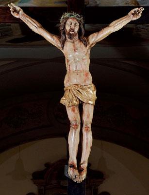Il Crocifisso ligneo davanti al quale, la mattina del 20 settembre 1918, Padre Pio ricevette le stimmate cruente e permanenti