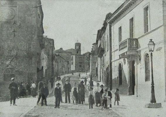Il Municipio e Corso Vittorio Emanuele III