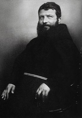 Padre Benedetto in una fotografia del 1908 circa. Fu Padre spirituale di Padre Pio dal 1905 al 1922, quando il Sant'Uffizio dispose la fine della sua direzione
