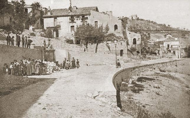 Via Termoli e la Fonte Pietra