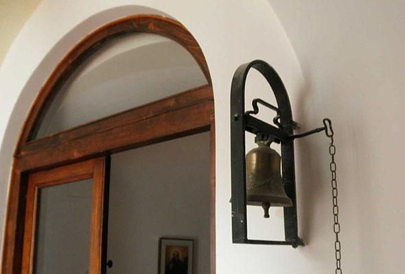 """La """"campanella"""", adoperata per l'identica occasione"""