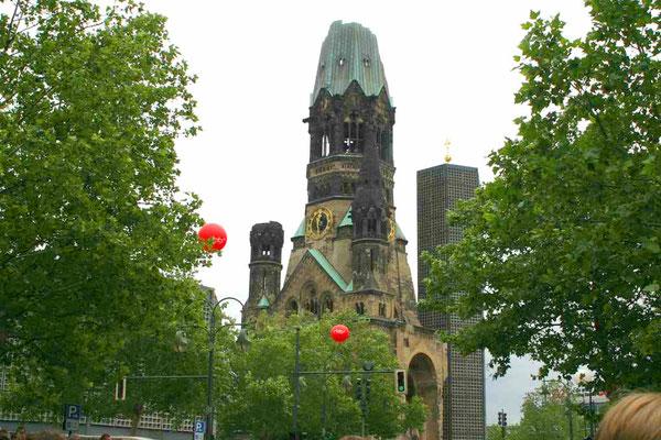 Berlin Gedächtniskirche / Breitscheidplatz ©Jürgen Marquardt /www.free-fotos-berlin.de