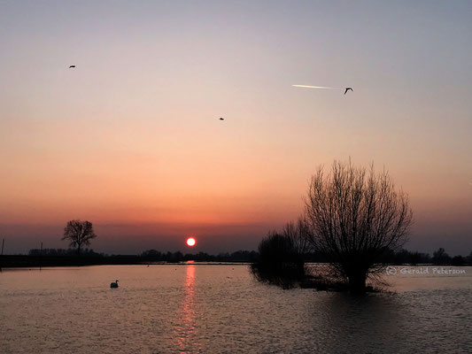 Sunset IJssel