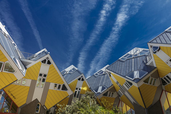 Cubic houses - 2, Rotterdam