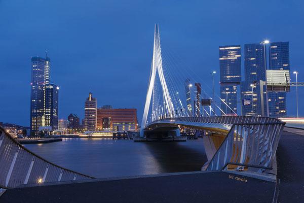 Blue hour Rotterdam