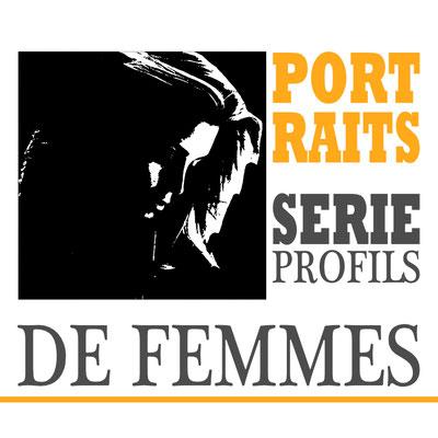Portraits profils de femmes