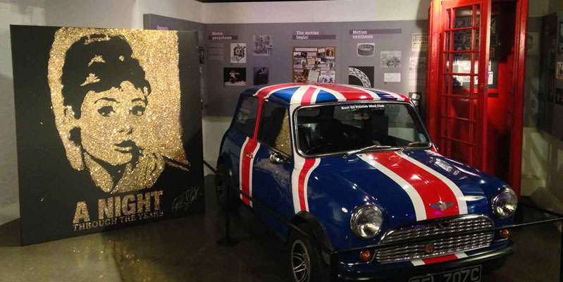 Carlton Event in London - Andrey Hepburn portraits at London Film Museum