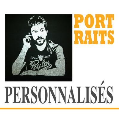 Portraits personnalisés