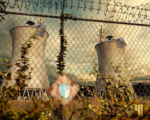 Sontrale Nucléaire créé dans le cadre du SpeedModelingContest Frenchcinema4D.fr