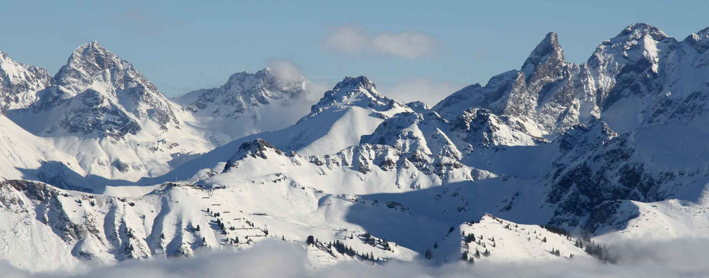 Skigebiet Kleinwalsertal – Panorama-Genuß