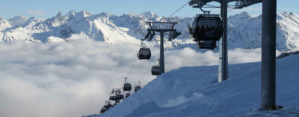 Skigebiet Kleinwalsertal – Ifen Gondelbahn