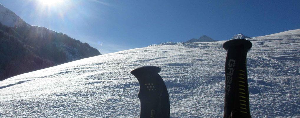 Skigebiet Kleinwalsertal – kleine Pause