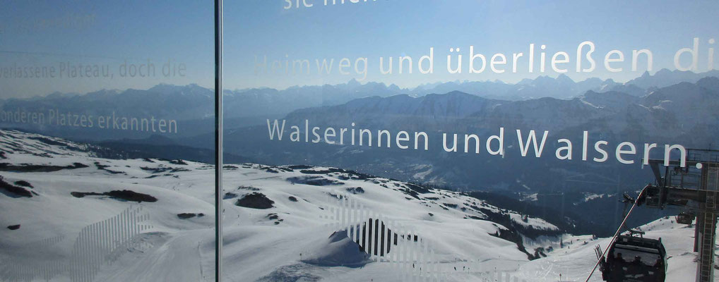 Skigebiet Kleinwalsertal – Ifen Panorama