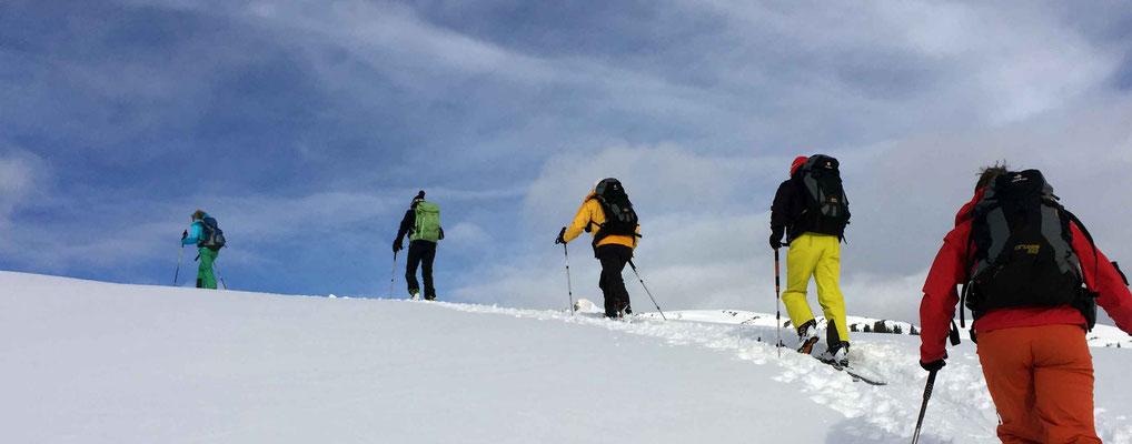 Skigebiet Kleinwalsertal – Touren gehen