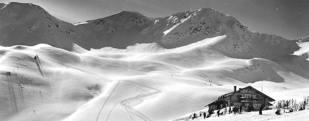 Skigebiet Kleinwalsertal – Skifahren früher ohne Lifte