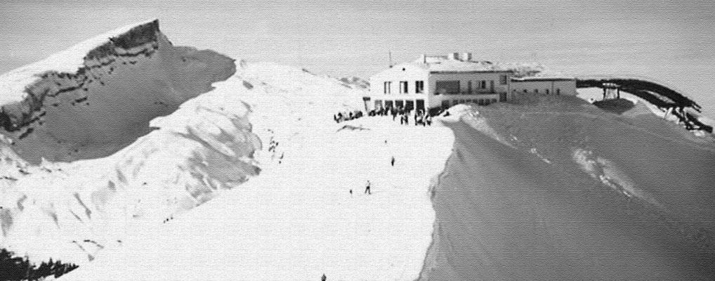 Skigebiet Kleinwalsertal – Kanzelwand damals