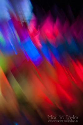 Licht- und Farbenspiel bei der Luminale