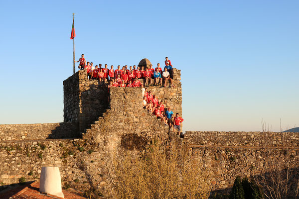 training camp in Portugal - the whole crew